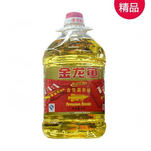 金龙鱼第二代食用调和油4L