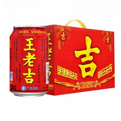 王老吉凉茶310ML*12