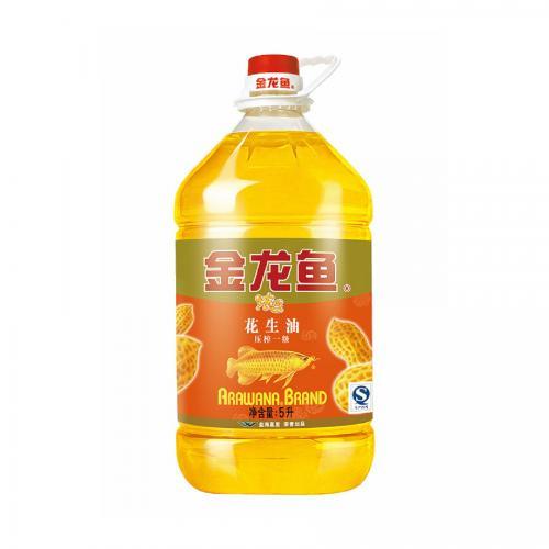 金龙鱼浓香花生油5L