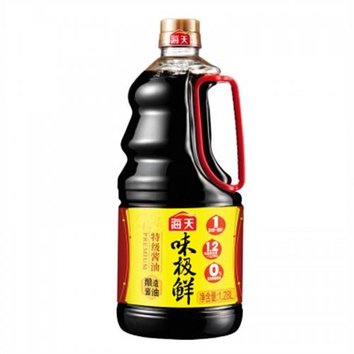 海天味极鲜特级酱油1.28L