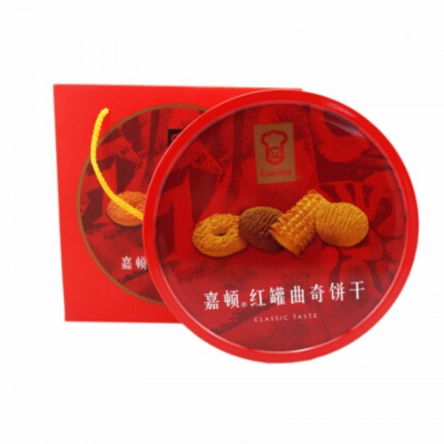 嘉顿(红罐)曲奇饼480g