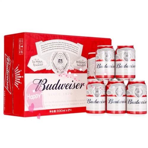 件装百威啤酒330ml*24罐