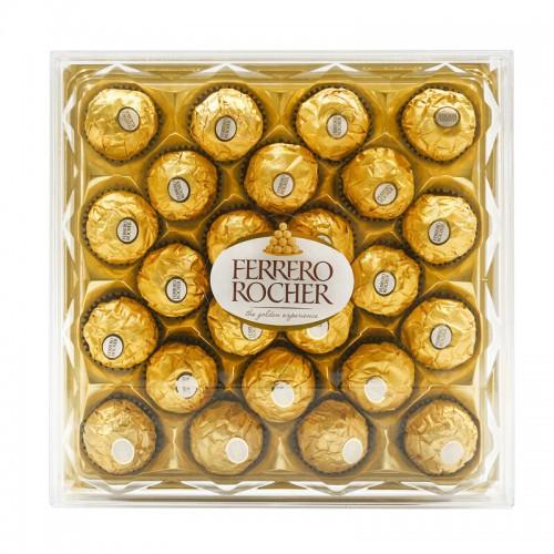 费列罗钻石型平板金莎巧克力24粒