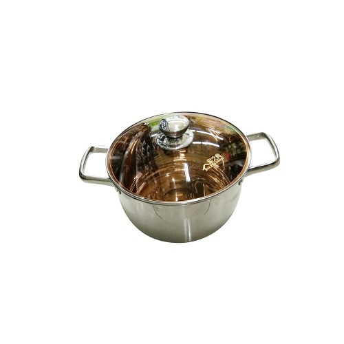 家之典复合钢汤锅(24CM)