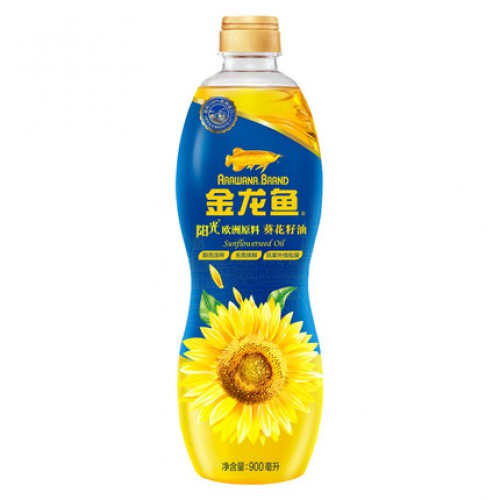 金龙鱼葵花籽油900ml