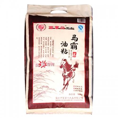 百事兴马霸油粘香米10kg